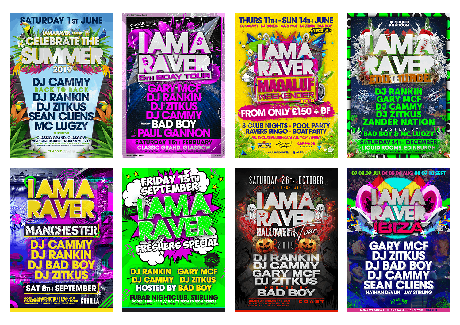 I Am A Raver Posters