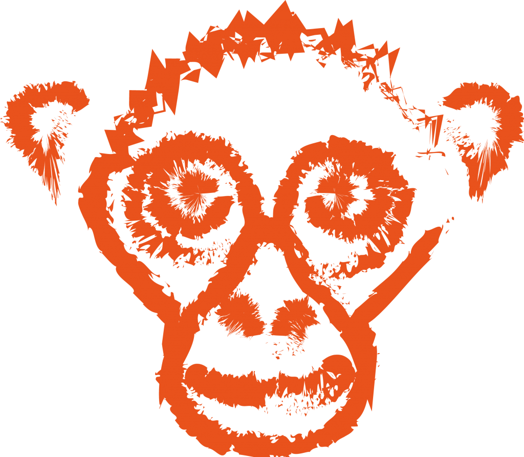 Spider Monkey Coffee icon logo