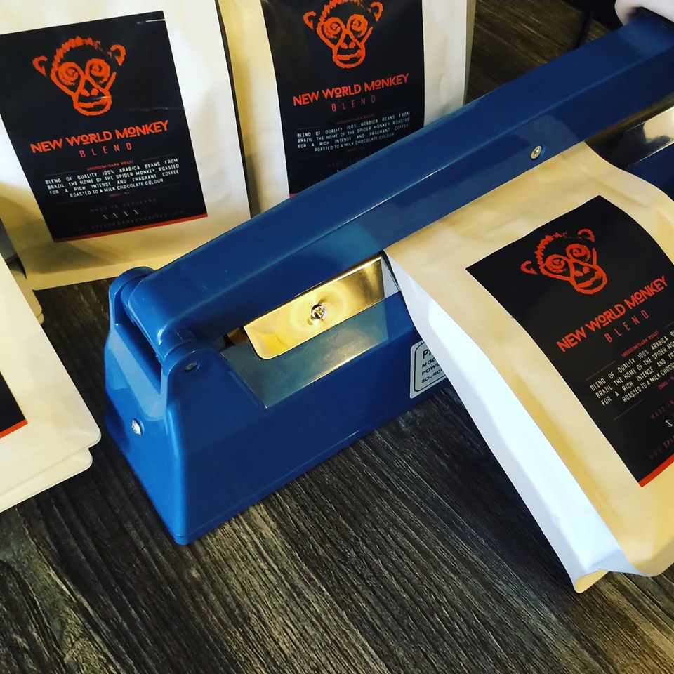 Spider Monkey Coffee Bags